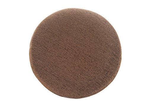 Cheap Tempo Furniture Replacement Barstool Cushions (Char Brown Fabric, 100% Polyester)