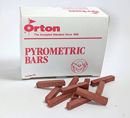 Orton small pyrometric bars for the kiln sitter cone 04
