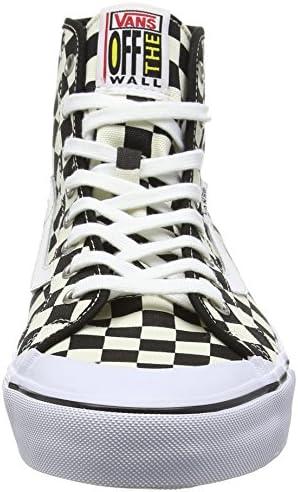 Vans Herren Ball Hi Sf Sneakers, Mehrfarbig (Checkerboard