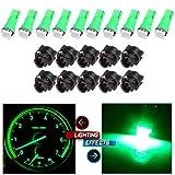 cciyu 20X T5 Green Led 1-5050 SMD Dashboard Dash Gauge Instrument Panel Gauge Cluster Light