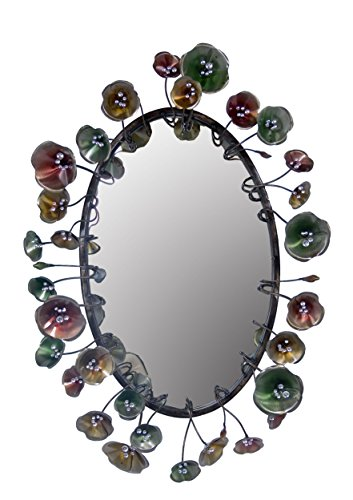 Rayes Imports  Metal Mirror w/Wall Decoration