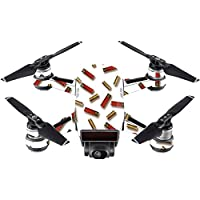 Skin For DJI Spark Mini – Shell Blanket | MightySkins Protective, Durable, and Unique Vinyl Decal wrap cover | Easy To Apply, Remove, and Change Styles | Made in the USA