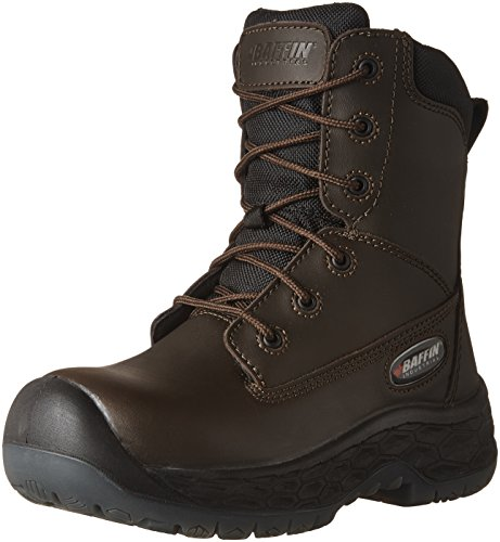 Baffin Mens Men's Barton Industrial Boot, Brown, 8 Medium US (Boots Chemical Baffin)