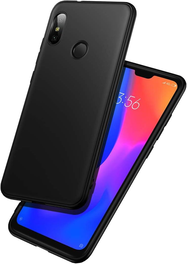 LAYJOY Funda Xiaomi Mi A2 Lite, Carcasa Ligera Silicona Suave TPU Gel Bumper Case de Protectora Antideslizante, Anti-Golpes Cover Caso para Xiaomi Mi A2 Lite (2018) 5.84