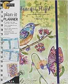 Fanciful vuelo 2019 planeador planificador: Lori Siebert ...