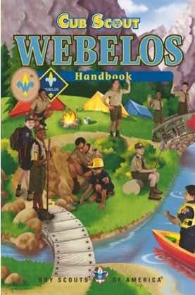 BSA Cub Scout Webelos Handbook