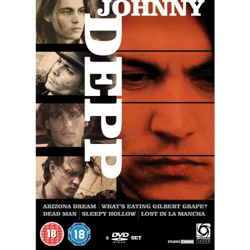 Johnny Depp Collection (Arizona Dream / What's Eating Gilbert Grape / Dead Man / Sleepy Hollow / Lost in La Mancha) [Region 2]