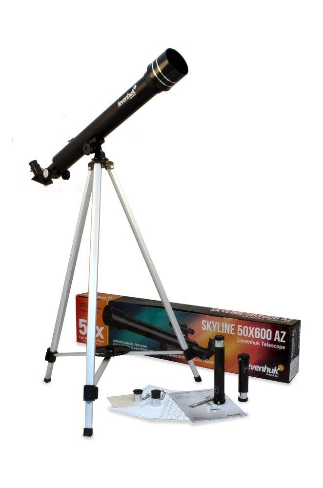 Levenhuk Skyline 50х600 AZ Refractor Telescope for Kids