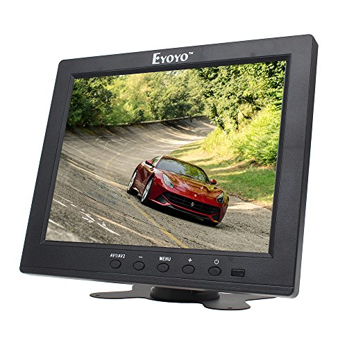 Lcd Video Monitor Surveillance Screen - Eyoyo S801H HD 8