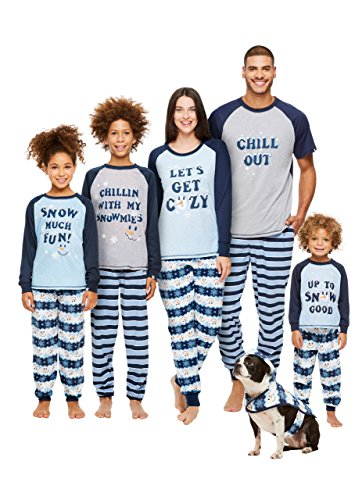 Price comparison product image Jammin Jammies Family Holiday Pajamas,  Boys 2-Piece Pajama Set With Mug,  Winter Wonderland,  by