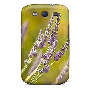 Scratch Resistant Hard Phone Cover For Samsung Galaxy S3 With Unique Design Beautiful Nature Wildflowers Skin AlainTanielian