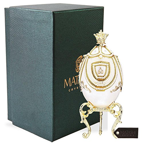 Matashi Faberge Egg Music Box | Elegant Table Top Ornament for sale  Delivered anywhere in USA