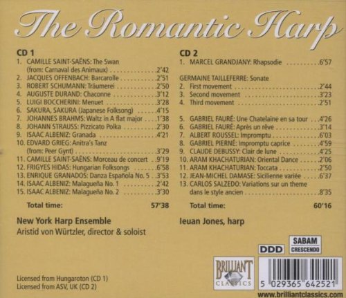 Romantic Harp by Brilliant Classics