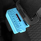Premium Belt Lock Buckle Guard With Release Key - Protect Children From Removing The Seat Belt - Learning Difficulties Safety Equipment – Clips In And Locks - Prevents Unbuckling On Auto Journeys