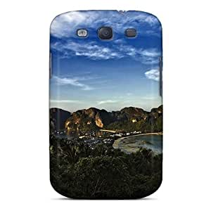 Awesome Design Nature Islands Paradise View Hard Case Cover For Galaxy S3