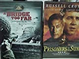 A Bridge Too Far , Prisoners Of The Sun : World War II collection of 2 DVD's