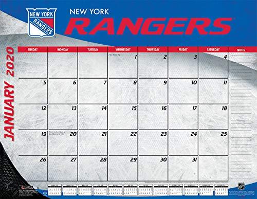 FANMATS 21280 Team Color Crumb Rubber New York Rangers Door Mat