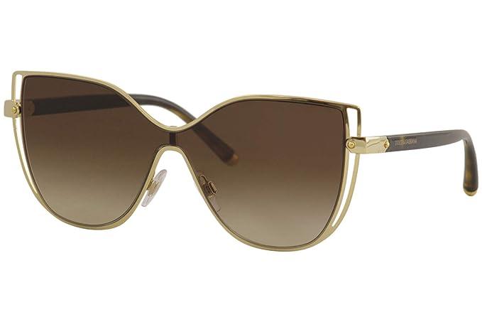 Dolce & Gabbana 0DG2236 Gafas de sol, Gold, 40 para Mujer ...
