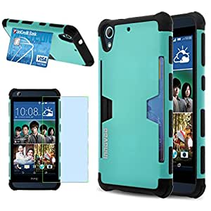 HTC Desire 626 / 626s Case, INNOVAA Slim Supreme Armor Case W/ Free Screen Protector & Touch Screen Stylus Pen - Teal