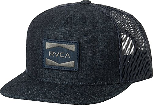 9ac9fc4d7327a2 RVCA Cedars Trucker Snapback Hat Dark Blue Denim - Buy Online in Oman. |  Apparel Products in Oman - See Prices, Reviews and Free Delivery in Muscat,  Seeb, ...