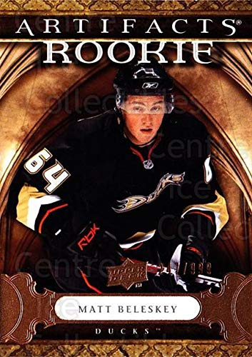 (CI) Matt Beleskey Hockey Card 2009-10 UD Artifacts (base) 158 Matt Beleskey ()