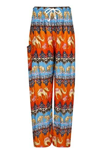 Blue Pantaloni U Donna Red Elephant ThaiUK qgxBwng