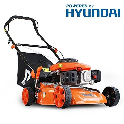 P1PE P4100P 99cc 4-Stroke Petrol Lawnmower Hyundai Powered 41cm / 16inch...