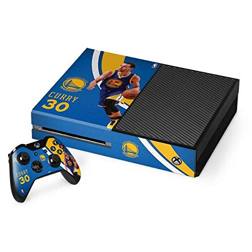 Golden State Warriors Xbox One Console and Controller Bundle Skin - Warriors Curry #30 | NBA & Skinit Skin
