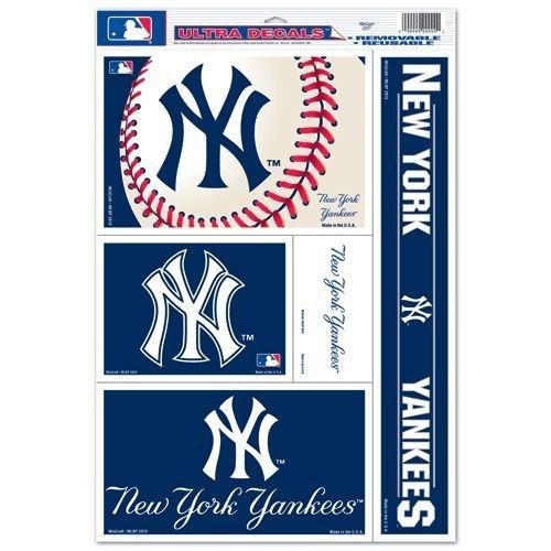"New York Yankees 11""x17"" Ultra Decal Sheet"