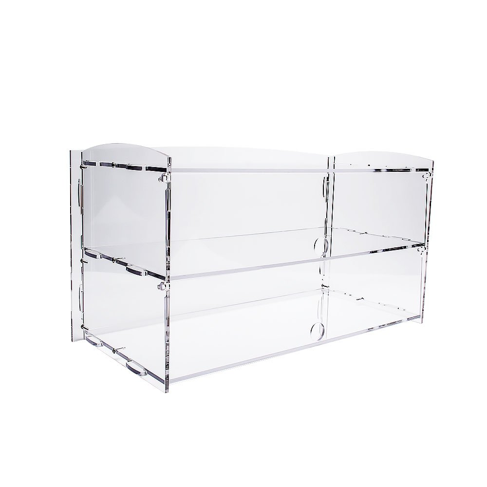 Display4top Acrylic Display Pastry Cabinet Cakes Donuts Cupcakes Pastries (2 Tier)