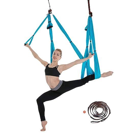 Kjhmin Aerial Hamaca de Yoga,Swing para Yoga Antigravedad ...