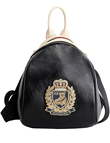 Menschwear Donne Vera Pelle Scuola Borsa Casual Borsa Zainetto Argento Oro Descontar Mejor Tienda Para Comprar Hqw8m1PF