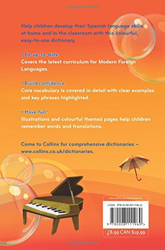 Collins Primary Dictionaries — Collins Primary Illustrated Spanish Dictionary: Collins Dictionaries: 9780008111960: Amazon.com: Books