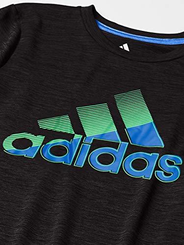 adidas Boys' Short Sleeve Moisture-Wicking Boss Logo T-Shirt 2