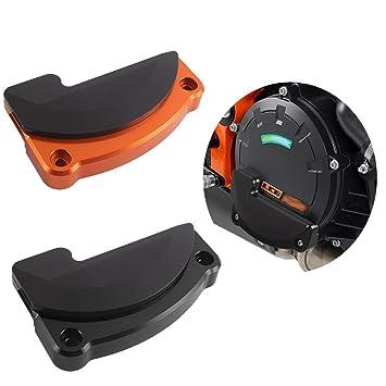 Motocicleta CNC Aluminio Derecha Protector del motor Estuche Cubierta Protector Protector del lado del marco Deslizador
