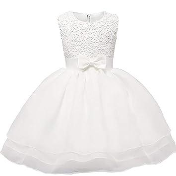 Vestidos para niñas bebés Bautizo Boda Concurso Vestido ...