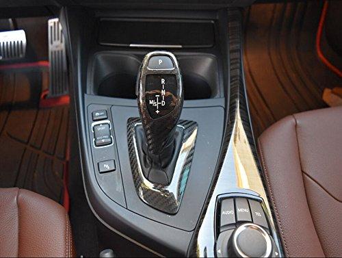 - Real Carbon Fiber Gear Shift Surround Trim for BMW F22 F23 F30 F31 F32 F34 F36 (Left Hand Drive)
