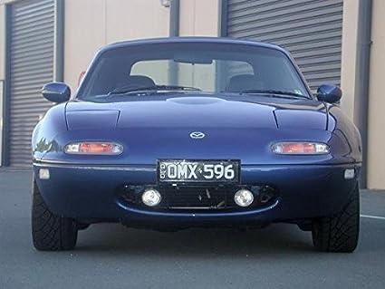 Amazon com: 1990-1998 Mazda MX-5 Xenon Halogen Fog Lamps Driving
