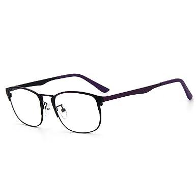 D.King Rectangular Clear Lens Eyeglasses Frames Vintage Prescription ...