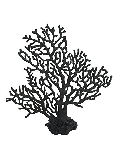 WECO South Pacific Coral Replica Sea Fan Black - Med ()