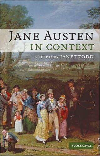 Jane Austen In Context Paperback por Janet Todd epub