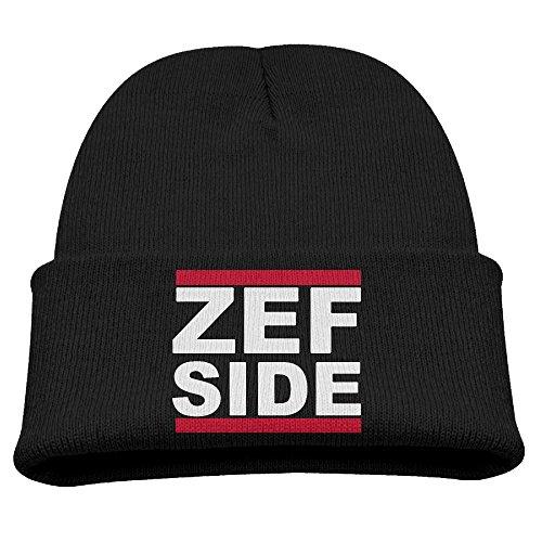 Die-Antwoord-Zef-Side-Logo-Unisex-Winter-Hat-Beanies-Cap-Black