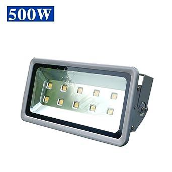 Luz de día Blanco 500 W LED Luz de inundación Luces de seguridad ...