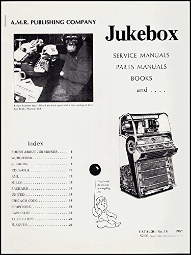 Jukebox Manual (Jukebox: Service Manuals, Parts Manuals, Books, and …)