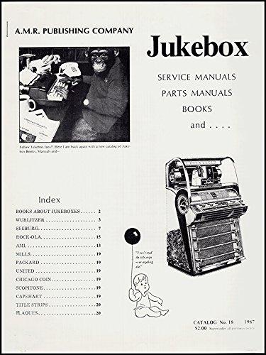 Jukebox Manual (Jukebox: Service Manuals, Parts Manuals, Books, and …)