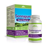 Somnapure Natural Sleep Aid with Melatonin, Valerian, and Chamomile,...
