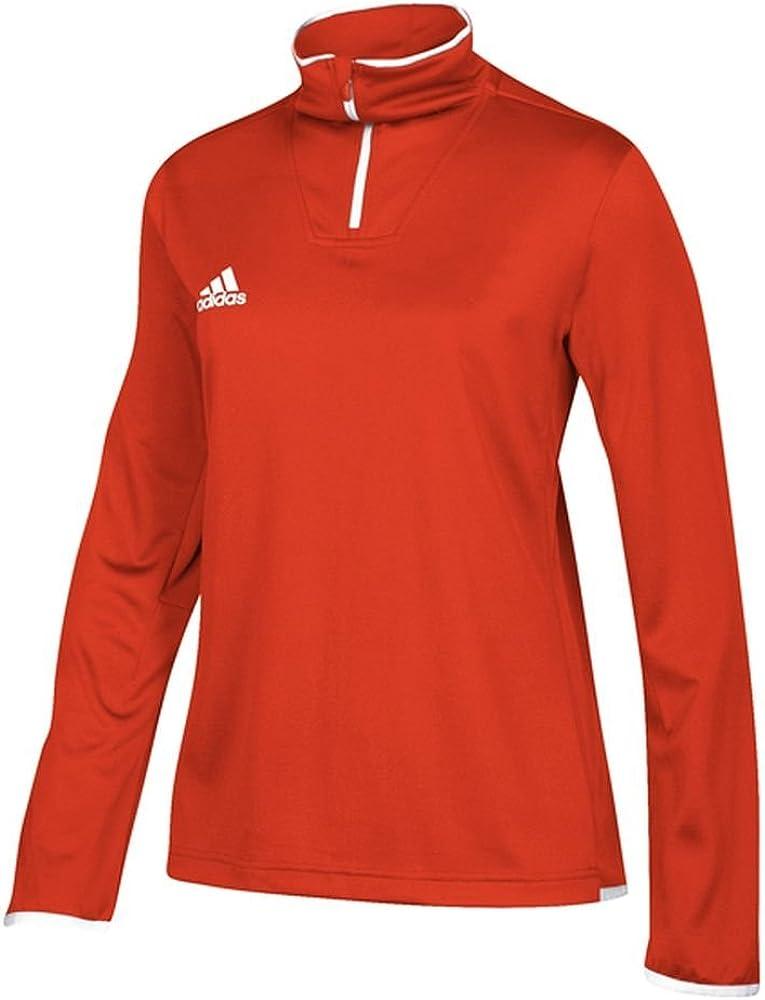 adidas Team Iconic Knit Long Sleeve Quarter-Zip Top - Women's Multi-Sport