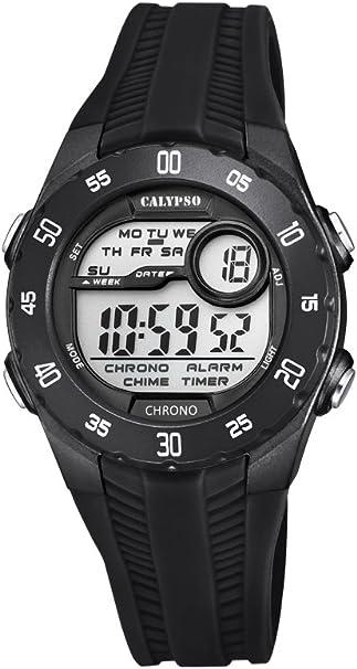 Calypso Reloj Digital para Unisex de Cuarzo con Correa en Plástico K5744/6