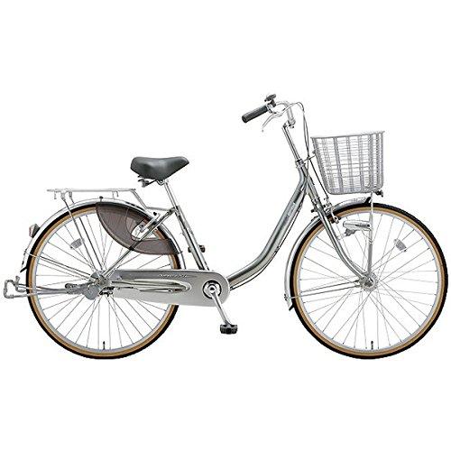 ミヤタ(MIYATA) シティサイクル 自転車 クォーツエクセルライト DQXU43L8 (OS68) ミラーシルバー B077NSHC41
