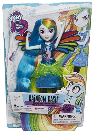 My Little Pony Equestria Girls Rainbow Dash Fashion Dolls]()